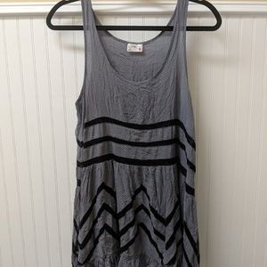 Free People Intimates Voile & Lace Trapeze Slip